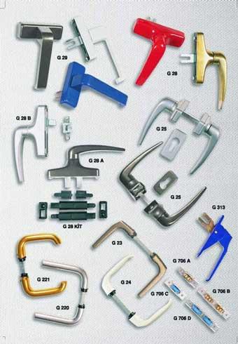 Herrajes y accesorios para carpinteria de aluminio for Herrajes para toldos de aluminio