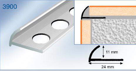 Steel Mortar Corner BeadTile Edging Trim - Corner bead for ceramic tiles
