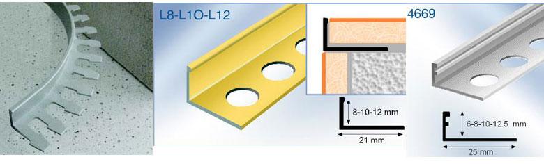 Tile Trim Formable Curvable Straight Edge Tile Edging