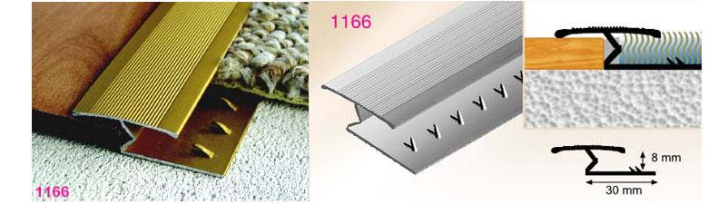 Zig Zag Door Strip Carpet Transition