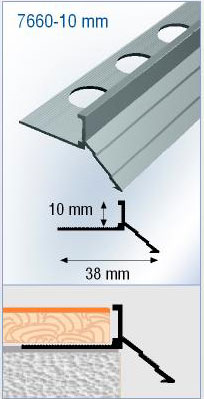 Profil de balcon aluminium goutte d 39 eau balcon - Profile goutte d eau ...