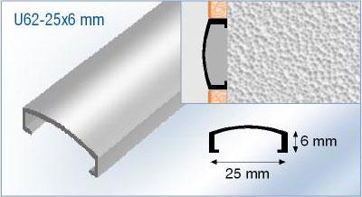 aluminium listello tile trim square edge box tile trim. Black Bedroom Furniture Sets. Home Design Ideas