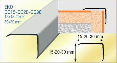 Corni re aluminium corni re d 39 angle de carrelage for Angle saillant carrelage
