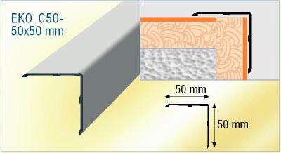 Corni re aluminium corni re d 39 angle de carrelage - Baguette angle alu ...