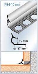 perfil alumino angulo interior perfil nivel aluminio. Black Bedroom Furniture Sets. Home Design Ideas
